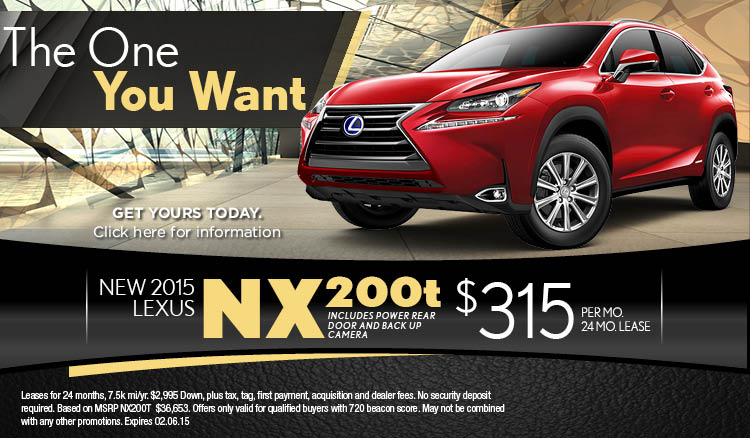 Awesome ... 2015 Lexus Nx 200t Lease Special Slider ...
